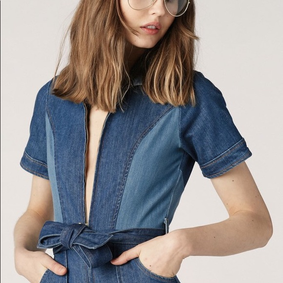 13547fe91b46 Stoned Immaculate Blue Jean Baby 70s Jumpsuit. M 5b09a2063afbbd1296fa179d